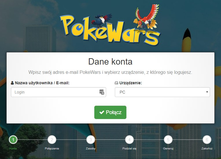 hack do pokewars na ph i złoto generator