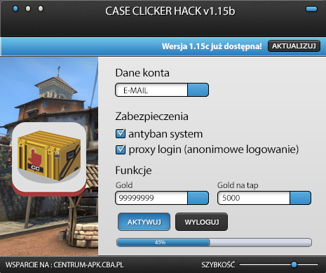 case clicker hack